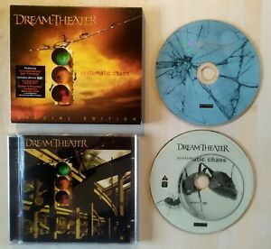 2 CD DREAM THEATER Systematic Chaos Special Edition RR 79928 EXCELLENT ETAT