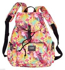 Victoria's Secret PINK Tropical Floral School Beach Backpack + 1 cosmetic case