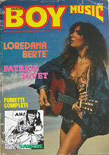 BOY MUSIC 31 1979 Loredana Bertè Patrick Juvet Rino Gaetano Orme Bertoli Bogart