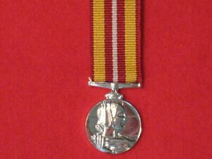 Miniature Voluntary Medical Services Medal with ribbon in mint condition