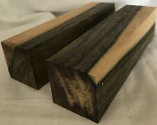 2 Blue Mahoe Wood 2x2x8 Turkey Box Calls AKA Blue Hawaii Scales Pool Cues Lumber