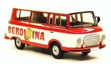 H0 BREKINA Barkas B 1000 KB Kleinbus Zirkus BEROLINA Staatszirkus DDR # 30034