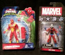 Ant-Man 3.75 Marvel Infinite Series,Ultimate Spiderman vs Sinister 6 Iron Spider