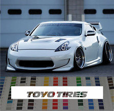Toyo Tires Banner Windshield Sticker Decal rauh welt style 2018 car JDM