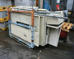 Disassembled dry powder spray booth - no fan included -