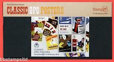 2016 GPO Classic Posters Stampex Spring Overprinted Presentation Pack