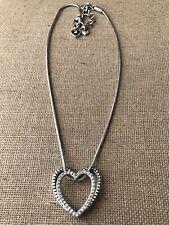 "Brighton Double Heart Necklace 16-18"""
