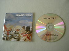 DAVID FORD Pour A Little Poison promo CD single