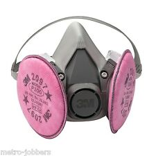 3M 07183 Half Facepiece Dust & Asbestos Respirator Packout Large Size 7183