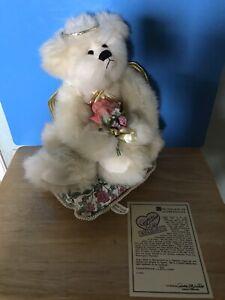 "ANNETTE FUNICELLO ANGEL BEAR: ""ANGEL HEART""~~ LMT ED #193 w/ COA & PILLOW—NO BOX"