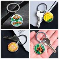 DC Comic Superhero Aquaman Logo Keychain Keyring Pendants Keychains Gift