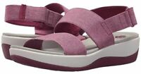 NEW Cloudsteppers Clarks Sport Sandals Arla Jacory Fuchsia Women's 8.5WIDE