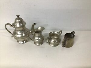 Silver plated tea serving set #454