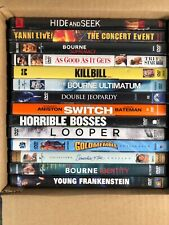 12 Dvd Lot + 2 Free - Bourne Kill Bill Hide And Seek Looper Young Frankenstein