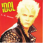 "BILLY IDOL L.A. Woman PICTURE SLEEVE 7"" 45 rpm record NEW + juke box title strip"
