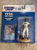 1996 KEN GRIFFEY JR Mariners Starting Lineup SLU Extended Figure & Card