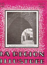 La région illustrée N°19 du 20 septembre 1929  Montbrison Issarlès E.Commette