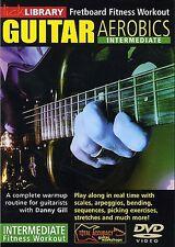Lick Library Guitar Aerobics Fretboard Fitness Intermediate Workout Video Dvd