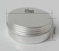 50PCS 25g Empty Aluminum Jars Refillable Cosmetic Bottle packaging Containers