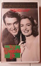 IT'S A WONDERFUL LIFE~VHS~1992~SPECIAL COLLECTOR'S EDITION~Frank Capra's Classic