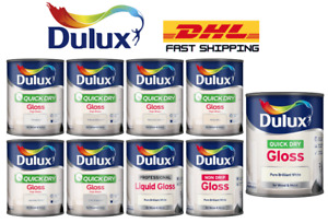 Dulux Quick Dry Gloss 750ml and 2.5L Wood / Metal - All Colours