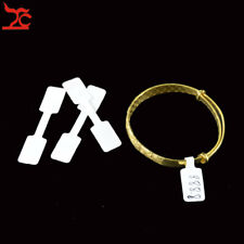 200PCS Blank Sticker Adhensive Tag for Ring Jewelry Display Price Label 10*1.5cm