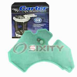 Carter Fuel Pump Strainer for 2003-2005 Lincoln Aviator 4.6L V8 Air Delivery gl