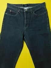 VTG Guess Black Denim Jeans Men's Size 32x30 Tapered Made in USA Zip Fly
