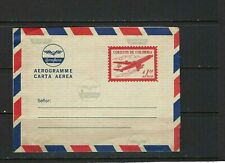 CARTA AEREA.- AEROGRAMME  70s    UNUSED-   COLOMBIA