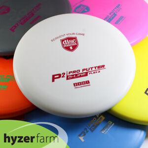 Discmania ORIGINALS D-LINE P2 FLEX 2 *pick color & weight* Hyzer Farm disc golf
