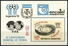 Argentina 1978 SG#MS1597 World Cup Football Victory MNH M/S Cat £6.25 #C111