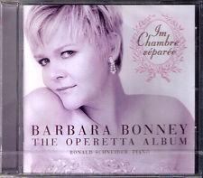 Barbara BONNEY The Operetta Album Im Chambre separee CD Zeller Johann Strauss