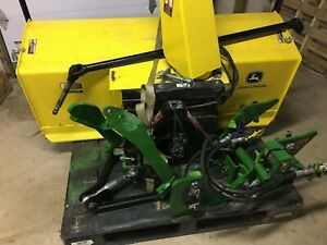 """John Deere 59"""" 2 Stage Snowblower with complete 3-point front lift- 3 Series"""