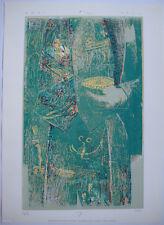 MANO MANO SÉRIGRAPHIE 1987 SIGNÉE AU CRAYON NUM/200 HANDSIGNED SILKSCREEN ENSAD