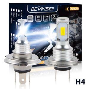 Skidoo Sixty61 LED Headlight Bulbs for Ski-Doo MXZ 800 ZX 2000-2007 LED HID 35W White High Power 5000 LM