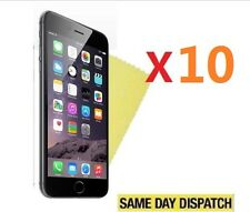 """10 X Ultra Clear Screen Protectors Cover Film - Apple iPhone 6 Plus 6s Plus 5.5"""""""