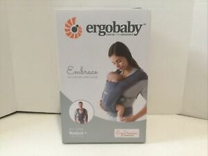 Ergobaby Embrace Baby/Infant Carrier for Newborns Oxford Blue - Open Box