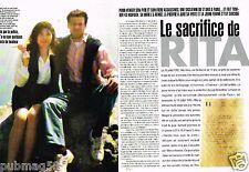 Coupure de Presse Clipping 1998 (3 pages) Sacrifice de Rita Atria
