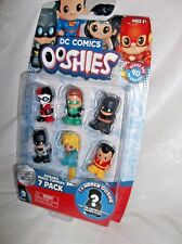 DC COMICS OOSHIES-SERIES ONE 7 PACK PENCIL TOPPERS W/ GREEN LANTERN & MORE
