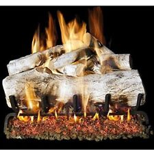 Peterson Real Fyre 30-inch Mountain Birch Log Set With Vented ng/lp Realistic!
