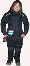 NEW KIDS COUGAR TEXTILE FULL CE ARMOUR MOTORCYCLE JACKET MESH LINED LARGE