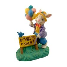 Midwest Of Cannon Falls Cottontail Lane Carnival Fair Bunny Selling Balloons