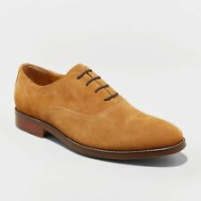 NEW Men's Suede Leather Shoes size 14 Genuine Leather Upper Goodfellow & Co