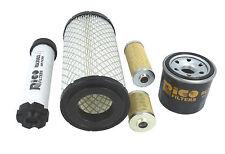 Filter Service Set Passend TAKEUCHI TB108, TB016, TB014 Mini Bagger Exkavierer
