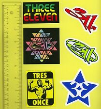 311 STICKER PACK FROM 2013 TOUR - TOTAL OF 6 STICKERS FOR ONE PRICE! *MUST SEE*