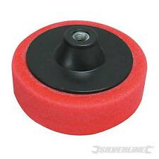 New Silverline 150mm Red Polishing Sponge Soft Car Buffer Cellulose Paint