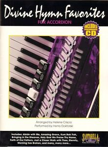 Divine Hymns Favorites for Accordion, Music Book & CD