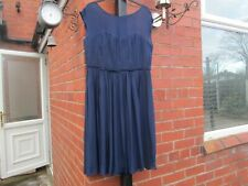 Boden Dress 16L Navy  Eva Occasion Dress RRP £129