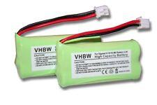 2x Batterie pour Siemens-Gigaset V30145-K1310-X383,S30852-D1640-X1,C30852D1640X1