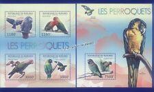 Echte Briefmarken mit Vögel-Motiven aus Burundi